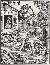 Lucas Cranach the Elder - Werewolf